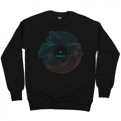 DEPHECT Sweater SOUNDSCAPES black