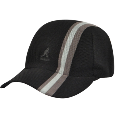 KANGOL Baseball Cap SPACECAP Polo Stripe black