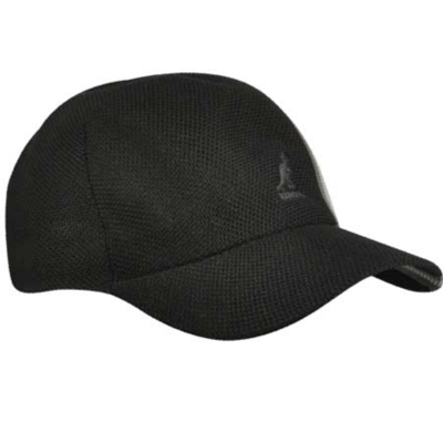 Kangol Headwear - KANGOL Baseball Cap SPACECAP Polo Stripe black ... 11a874c08ae