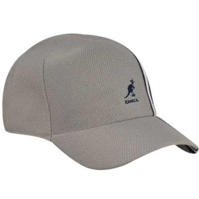 Kangol Headwear - KANGOL Baseball Cap SPACECAP Polo Stripe grey ... 4547a7f3a46