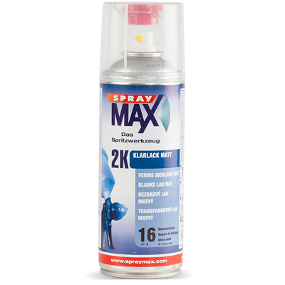 SPRAYMAX 2K Clear Varnish 400ml Spraycan