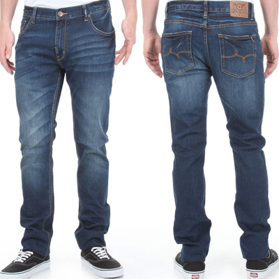 Lrg Lrg Jeans Cc Ss Dark Indigo Wash Jeans