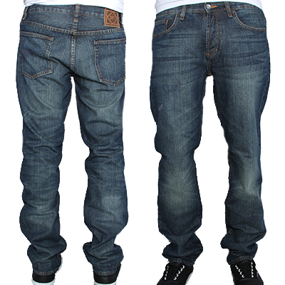 OBEY Jeans STANDARD ISSUE II worn wash