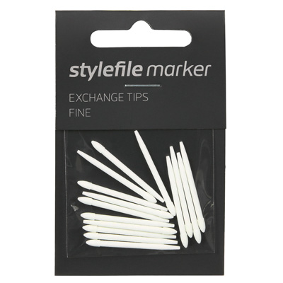 STYLEFILE Marker STANDARD Replace Tips (15pcs)