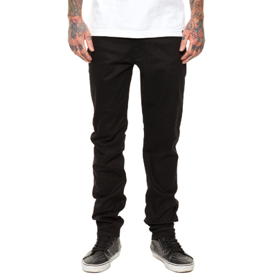 REBEL8 Pants STANDARD TWILL black