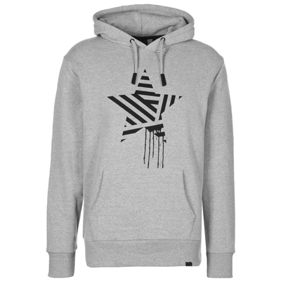 STREETSPUN Hoody STARSNSTRIPES heather grey