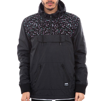 WRUNG Anorak Jacket STASH black