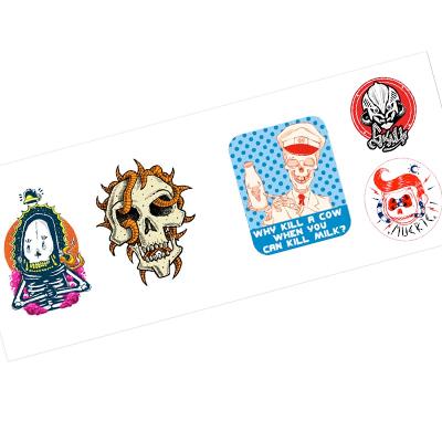 Sticker Bomb Skulls Book