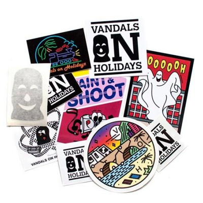 VANDALS ON HOLIDAY Sticker Set I