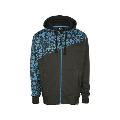 EIGHT MILES HIGH Hooded Zipper STORM dirt/petrol