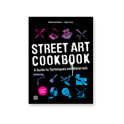 STREET ART COOKBOOK Buch SOFTCOVER