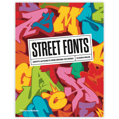 STREET FONTS Book English Softcover