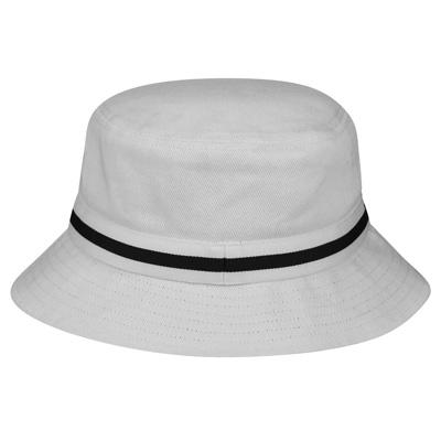 dcce87cc2fc Kangol Headwear - KANGOL Bucket Hat STRIPE LAHINCH white - Bucket ...
