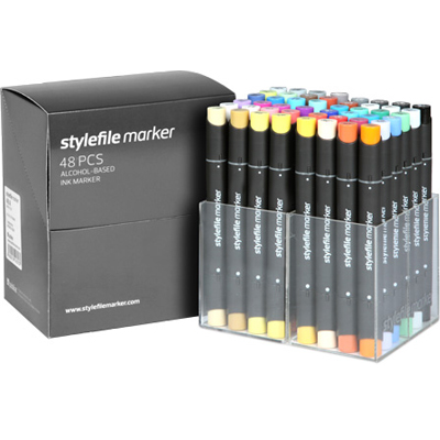 STYLEFILE Marker 48er Set Main A