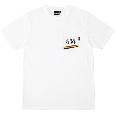SLUMDOG Pocket T-Shirt SUAVE white