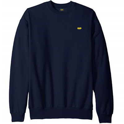 1UP Sweater 1UP LOVES YOU navy/yellow