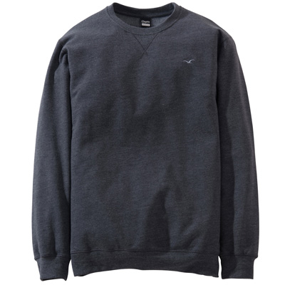 CLEPTOMANICX Sweater LIGULL II heather black