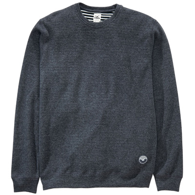 CLEPTOMANICX Knit Sweater WOOZER dark grey