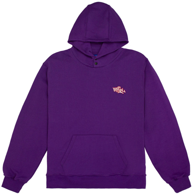USUAL Hoody TAG viola purple