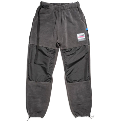 GOODBOIS Fleece Track Pants GEOTAG grey