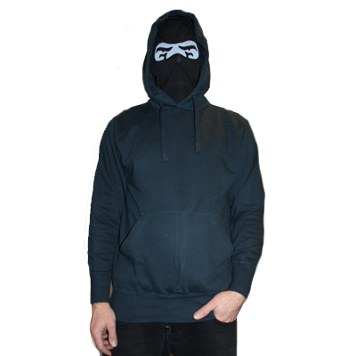 TH3 Face Mask Hoody NINJA dark navy