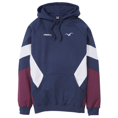 CLEPTOMANICX Hoody THAT IS THAT 2 dark navy