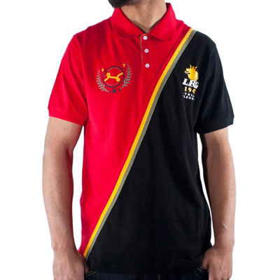 LRG Polo Shirt THINK LEGACY black