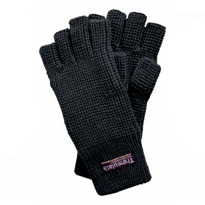 THINSULATE Finger free Gloves Black