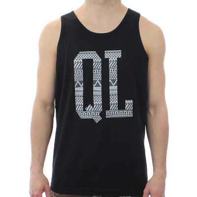 THE QUIET LIFE Tank Top OUR TRIBE black