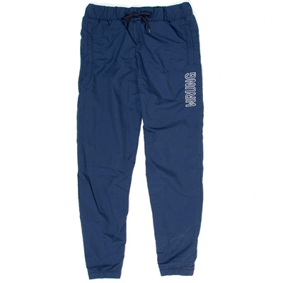 WRUNG Track Pants JAM navy/white