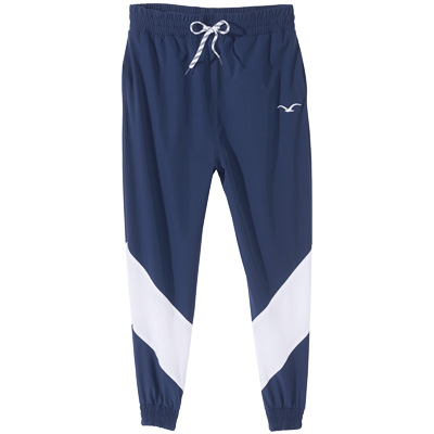 CLEPTOMANICX Trackpants TRACK dark navy/white