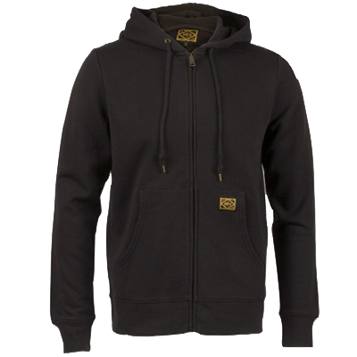 OBEY Hooded Zipper TRADEMARK black