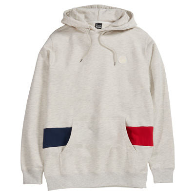 CLEPTOMANICX Hoody TRANSFORMER heather creme