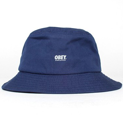 OBEY Bucket Hat TRAVERSE navy/reflective