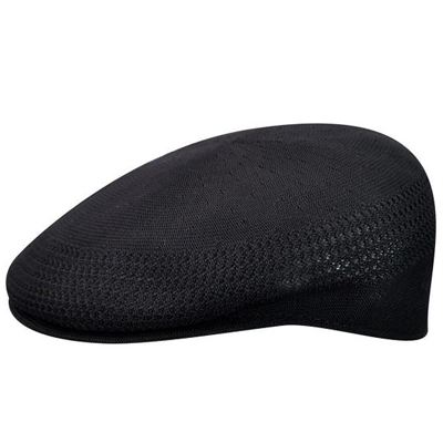 KANGOL Flat Cap TROPIC 504 VENTAIR black