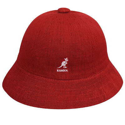 KANGOL Bucket Hat TROPIC CASUAL scarlet red