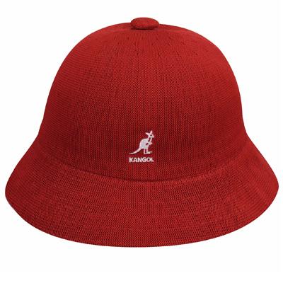 c20d8c9d7 KANGOL Bucket Hat TROPIC CASUAL scarlet red