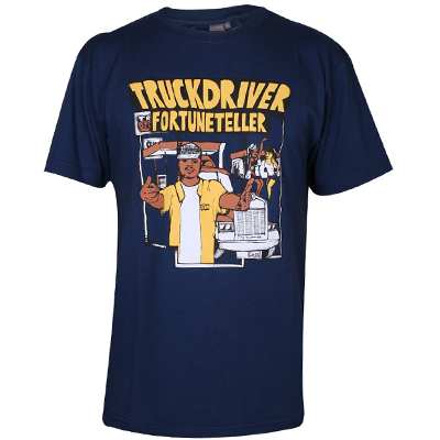 CAPONE T-Shirt FORTUNETELLER navy