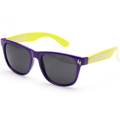 HCE Sonnenbrille TRUTHFUL purple/yellow