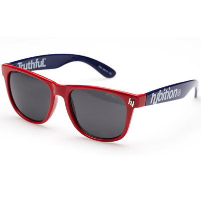 HCE Sonnenbrille TRUTHFUL red/blue