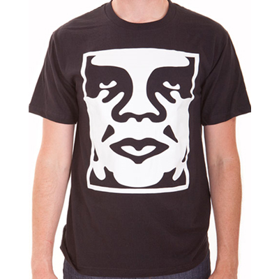 OBEY T-Shirt ICON FACE black