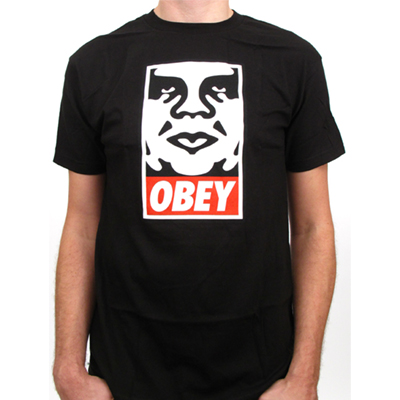 OBEY T-Shirt OBEY ICON black
