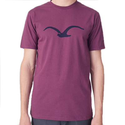 CLEPTOMANICX T-Shirt MÖWE crushed violet/dark navy