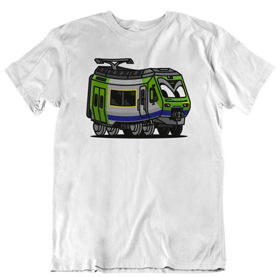 VANDALS ON HOLIDAYS T-Shirt NINA white