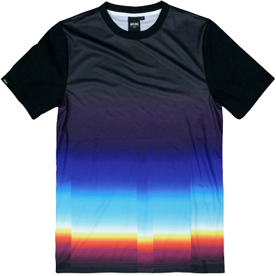 WRUNG T-Shirt CHROMATIC X PANTONE black/multi