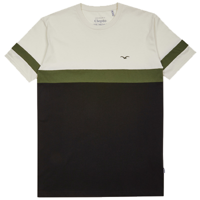 CLEPTOMANICX T-Shirt DEKKER new creme