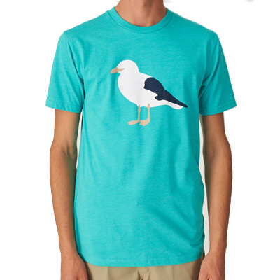 CLEPTOMANICX T-Shirt GULL 3 heather colombia