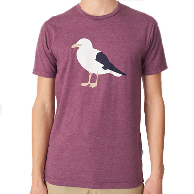 CLEPTOMANICX T-Shirt GULL 3 heather crushed violet