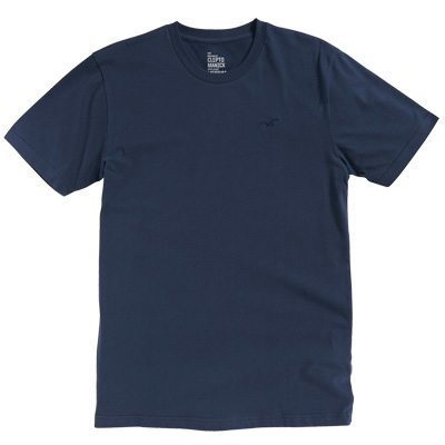 CLEPTOMANICX T-Shirt LIGULL REGULAR dark navy