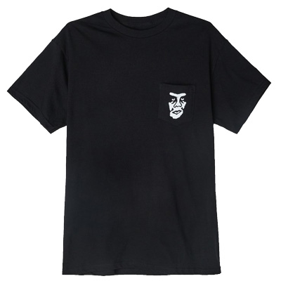 OBEY Pocket Shirt THE CREEPER black